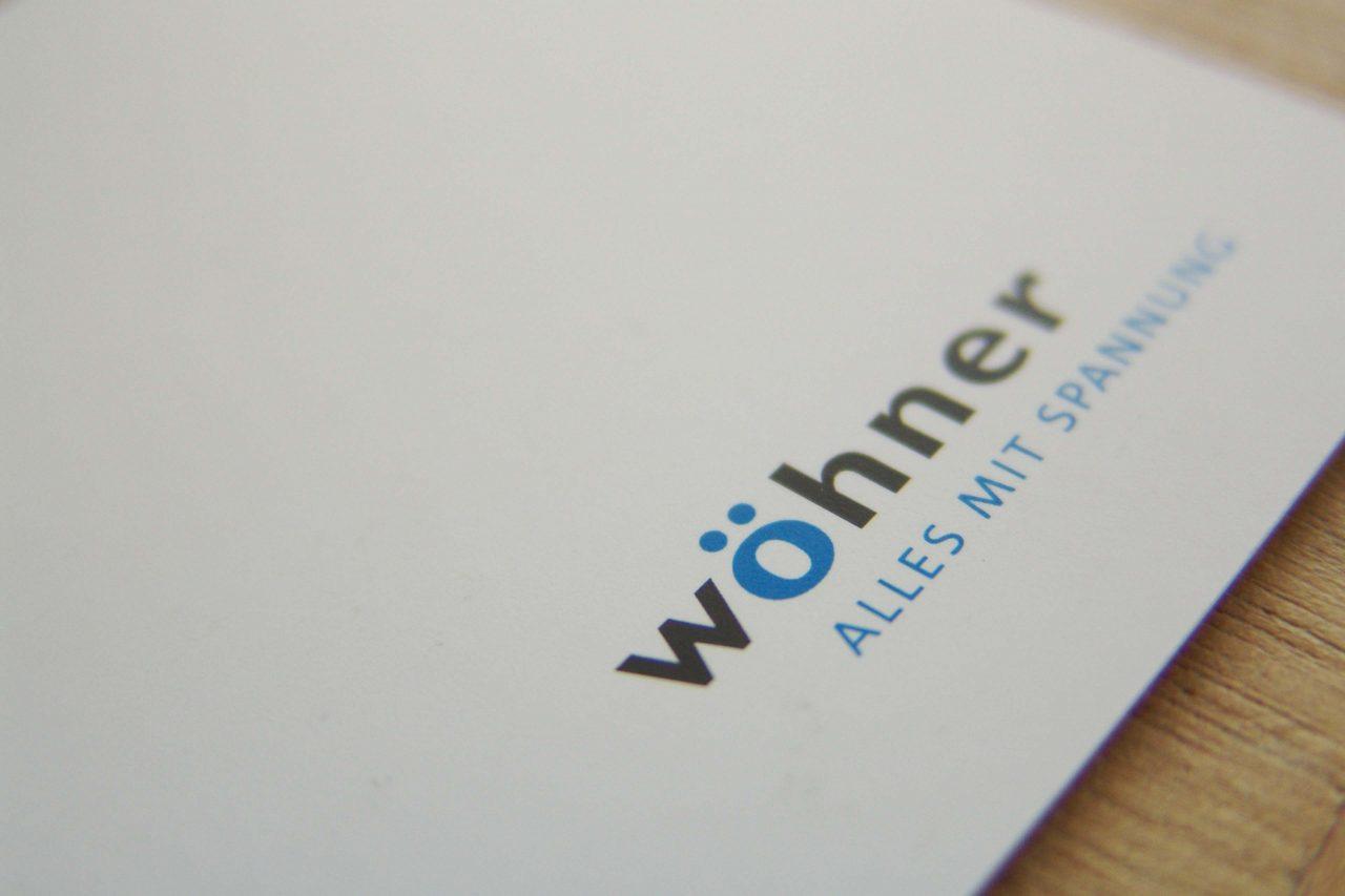 Erscheinungsbild Woehner Branding