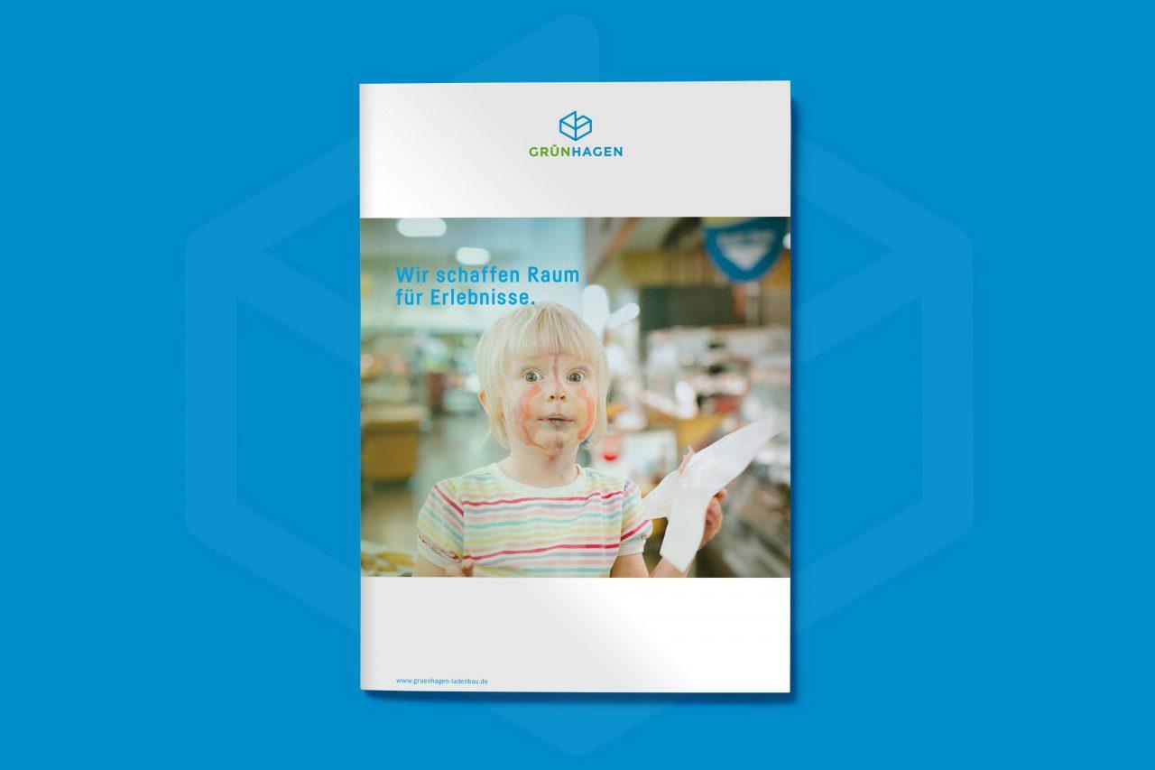 Formstabil Gestaltung Broschuere Literaturkonzept B2B