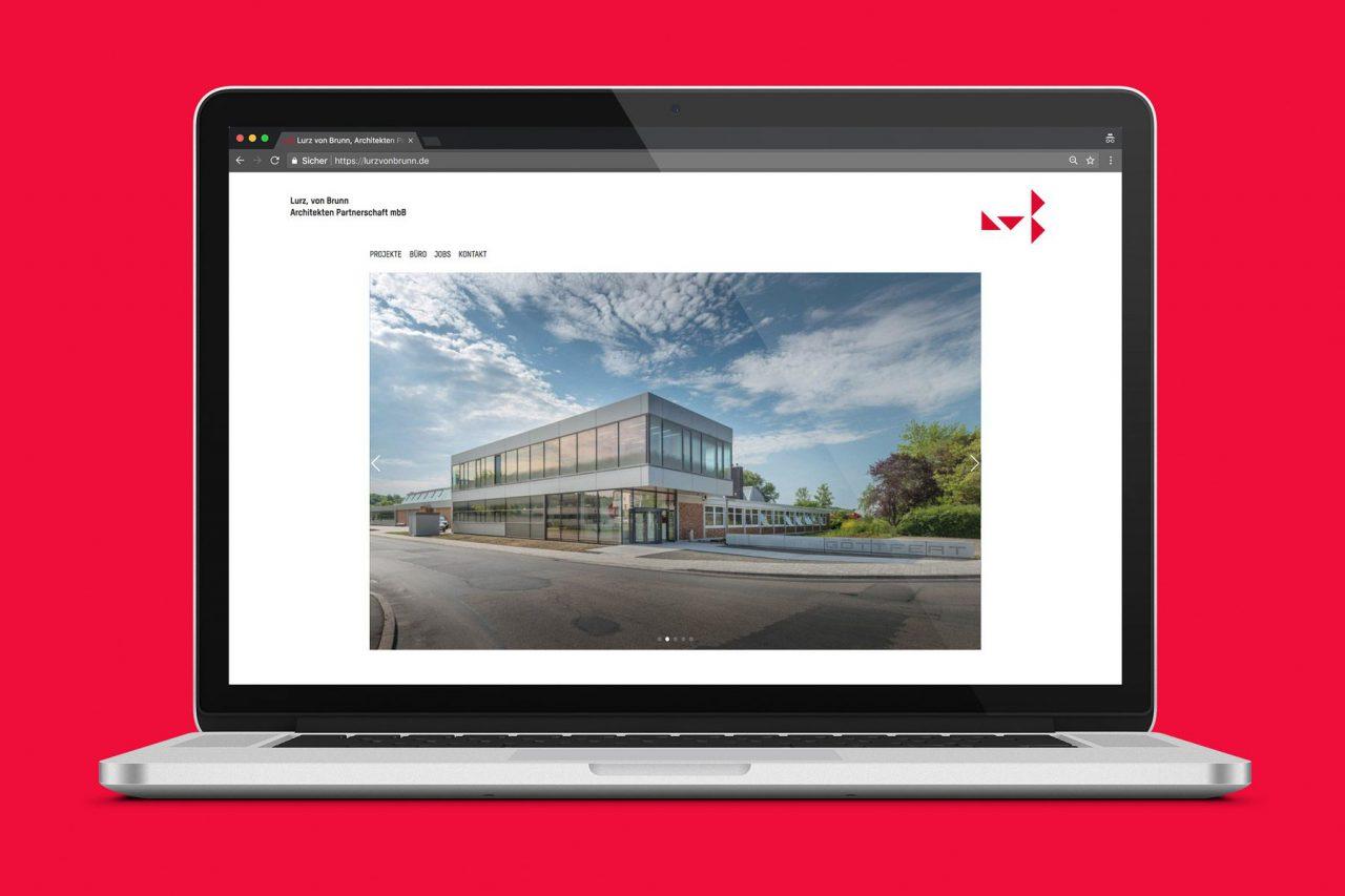 Abbildung Notebook-Bildschirm mit Website