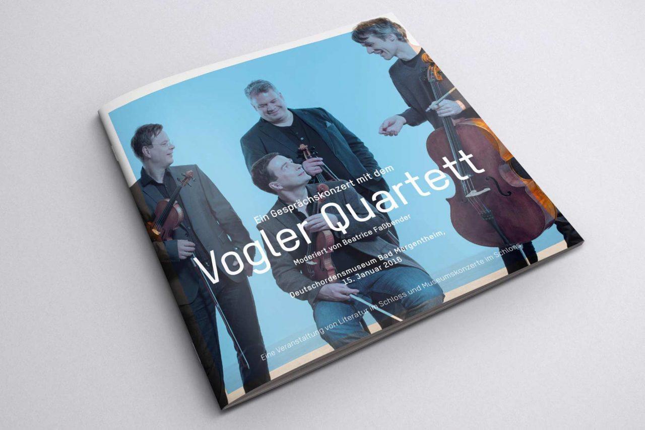 Ansicht Titel Programmheft Vogler Quartett