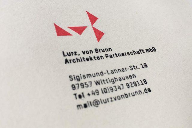 Stempel Architekturbuero Geschäftsausstattung