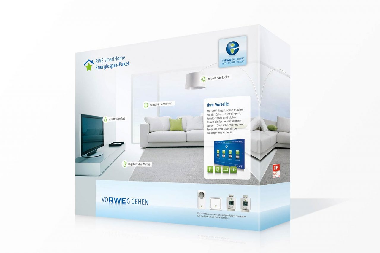 Verpackung RWE SmartHome
