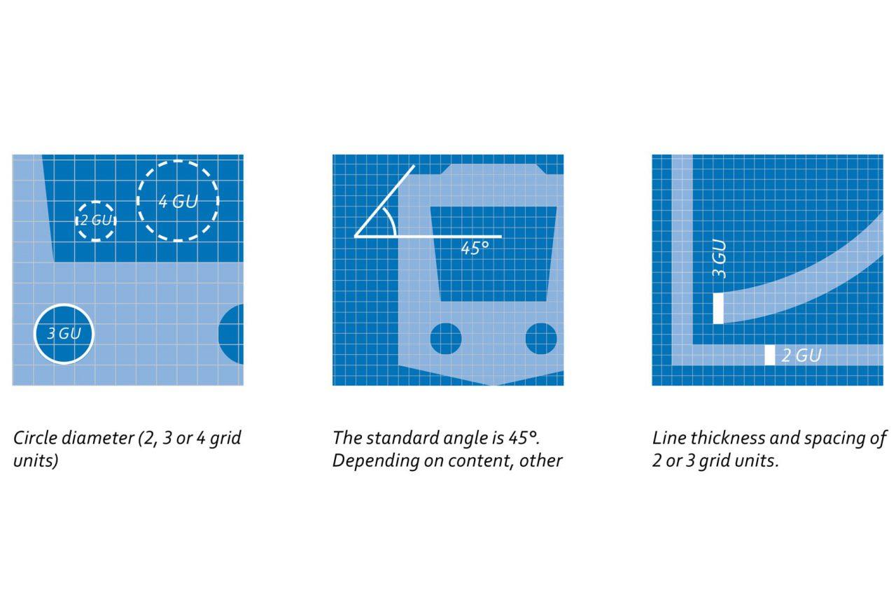 Gestaltungsraster als Grundlage für das Icondesign