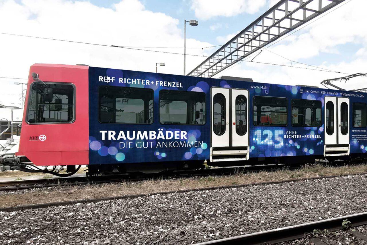 Stadtbahn Köln Branding