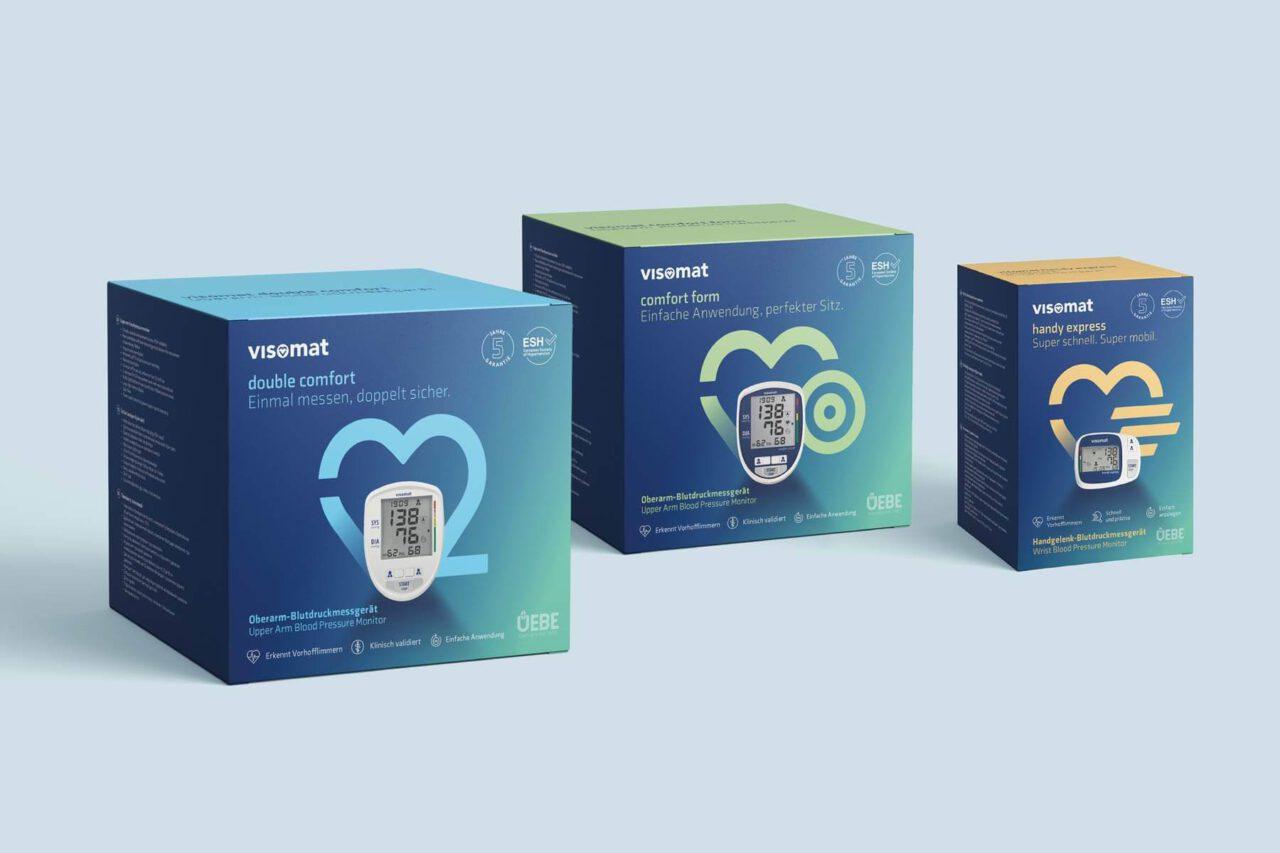 Verpackung für Blutdruckmaessgeräte